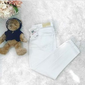 🌸 Michael Kors Izzy Cropped Skinny Jeans 10